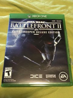 Battlefront II Elite Trooper Deluxe Edition for Xbox One.