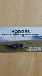 """Hodges mobile hand and wheel line repair. 2"""" through 6"""" repaired"""