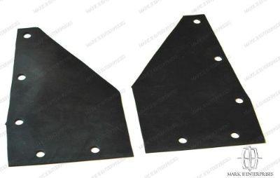 Buy 1956-57 Continental Mark II Rubber Mud Guards Below Rear Bumper Pair FREE SHIP motorcycle in Apple Valley, California, United States, for US $14.99