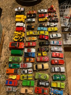 VINTAGE 1980s Hot Wheels & Matchbox cars trucks collection- approx 60