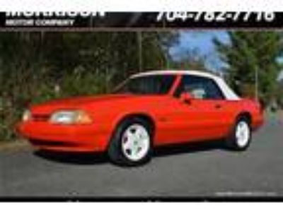 Used 1992 Ford Mustang LX V8 Convertible