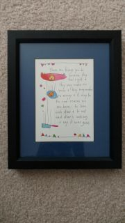 Professionally Framed & Matted Brian Andreas Story People Picture