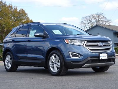2018 Ford Edge SEL (Blue Metallic)