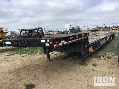 2011 (unverified) Ledwell T/A Hydraulic Tail Equipment Trailer