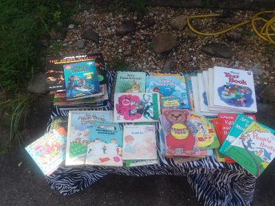 83 childrens books pictured i have about 250 total