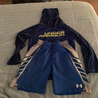 Under and adidas clothing size 7 everything in all is 30$