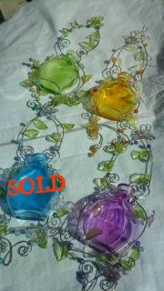 Colorful Glass Bottles ( 3 available )