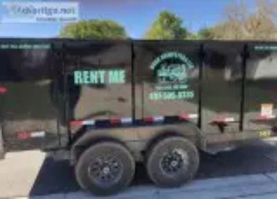 Junk removal dumpster rental