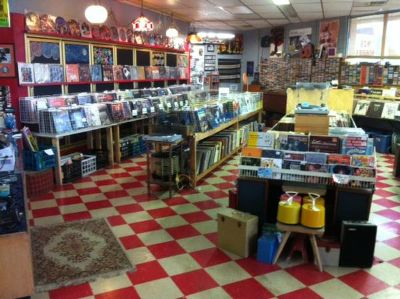 Records, Tapes, VHS, Laserdisk, Selecta Vision and all the Players (Abilene, Tx)