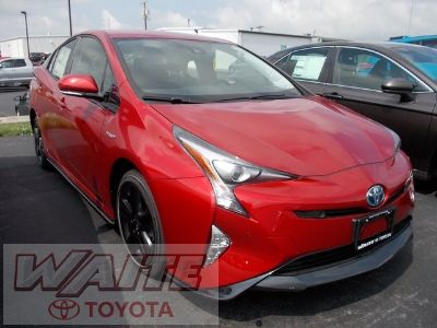 2018 Toyota Prius Three Touring (Hypersonic Red)