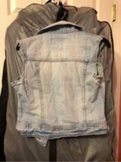 summer half Jean jacket size small