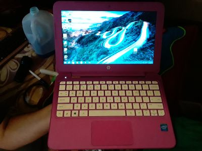 Hp mini laptop works but no charger