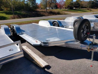2018 Sundowner 20' All Aluminum Open Car Trailer with Spare