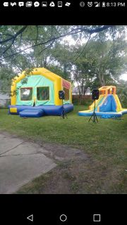 Rent Bounce house ,waterslide and speakers