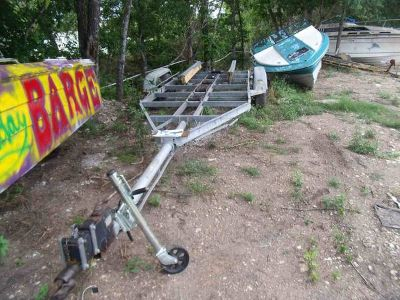 26ft 6in Galvanized tandem boat trailer(GT-37)