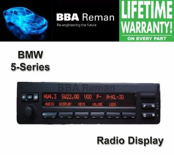 Buy BMW 5-Series LCD Radio Display Repair Service 5 series motorcycle in Taunton, Massachusetts, United States