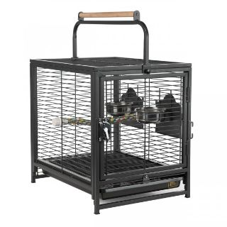 Prevue Pet Products Anodized Aluminum Travel Carrier for Birds