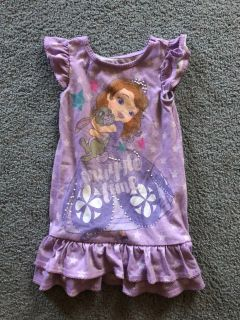 Girls 3t Disney Sofia the first nightgown $2.00. Located in Bethlehem. Cross posted.