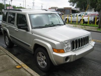 2008 Jeep Commander Sport (Tan)