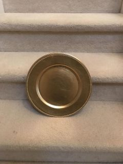 Set of 4 Charger Plates