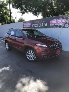 2014 Jeep Cherokee Limited (Deep Cherry Red Crystal)