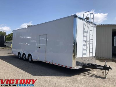 Bravo 8.5'x32' Sprint Car Trailer (Sale Pending)