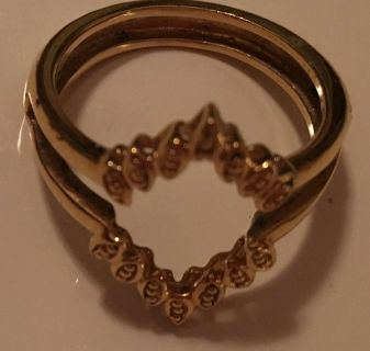 Gold Ring Divider size 8