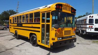 2006 Bluebird 8 Row Wheelchair School Bus