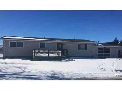 3 Bed 1 Bath Foreclosure Property in Gillette, WY 82718 - Wigwam Blvd