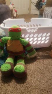 Ninja Turtle Raphael plush