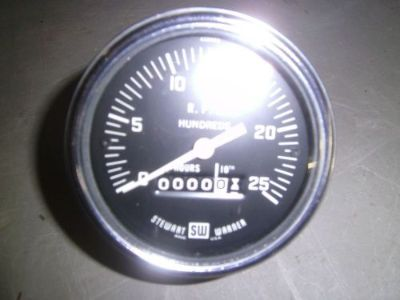 Purchase Stewart Warner tachometer's NOS vintage restoration hot rat rod motorcycle in Joliet, Illinois, United States, for US $95.95