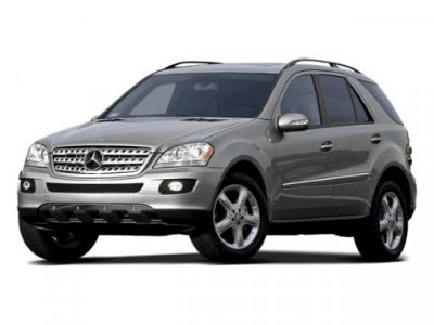 2008 Mercedes-Benz M-Class ML350 (Iridium Silver Metallic)