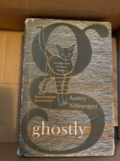 Glostly Book no marks, it is good shape hardcover the light cover is tear.