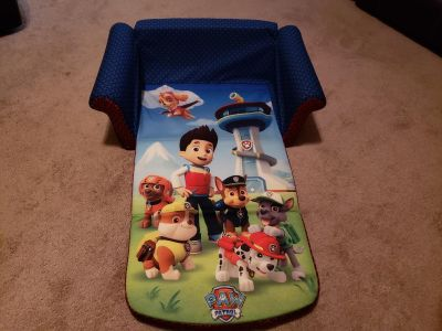 Paw patrol couch and sleeping mat
