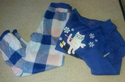 Cat and Jack pjs size 6x very soft EUC