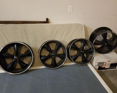 Rims from Shelby Mustang