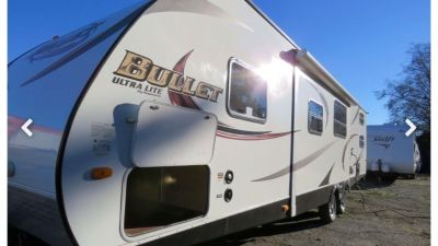 2014 Keystone Bullet 296BHSWE Ultra Lite Travel Trailer