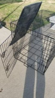 Training dog crate
