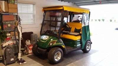 2011 Yamaha Green Bay Packer Golf Cart