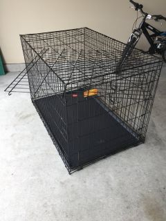 Life Stages ACE-448 Single Door Folding Dog Crate, XL