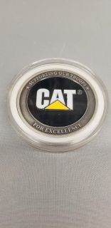 CAT challenge coin