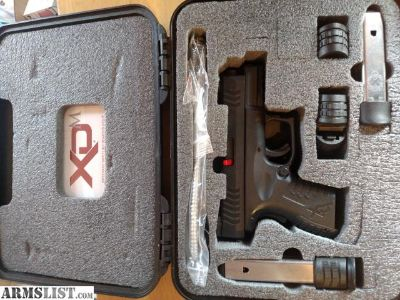 For Sale: Springfield XDM 3.8