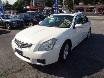 2007 Nissan Maxima 3.5 SE (White)