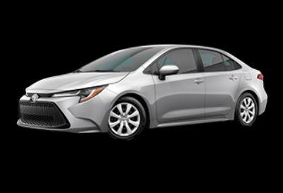 2020 Toyota Corolla LE (Classic Silver Metallic)