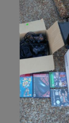 PlayStation 2 and games - at garage sale now (7/13)