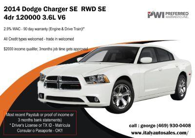 2014 Dodge Charger SE RWD SE