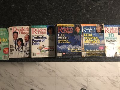 27 ssues of Readers Digest Magazine