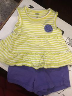 Girls 9 month summer clothes lot
