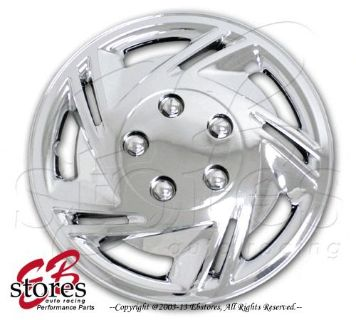 """Find One Set (4pcs) of 14 inch Chrome Wheel Skin Cover Hubcap Hub caps 14"""" Style#602 motorcycle in La Puente, California, United States"""