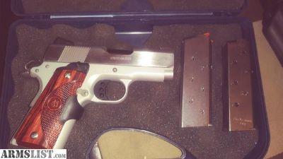 For Sale/Trade: Colt 45 defender w Crimson trace